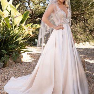 Casablanca bridal dress 2387 Lizzie